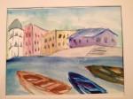 Bekah- Cinque Terre 2 watercolor
