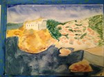 Jeff- Dubrovnik watercolor